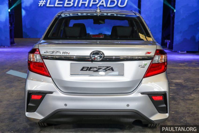 2020 Perodua Bezza 小改款上市, 4等级价格从3.46万起 Image #114263