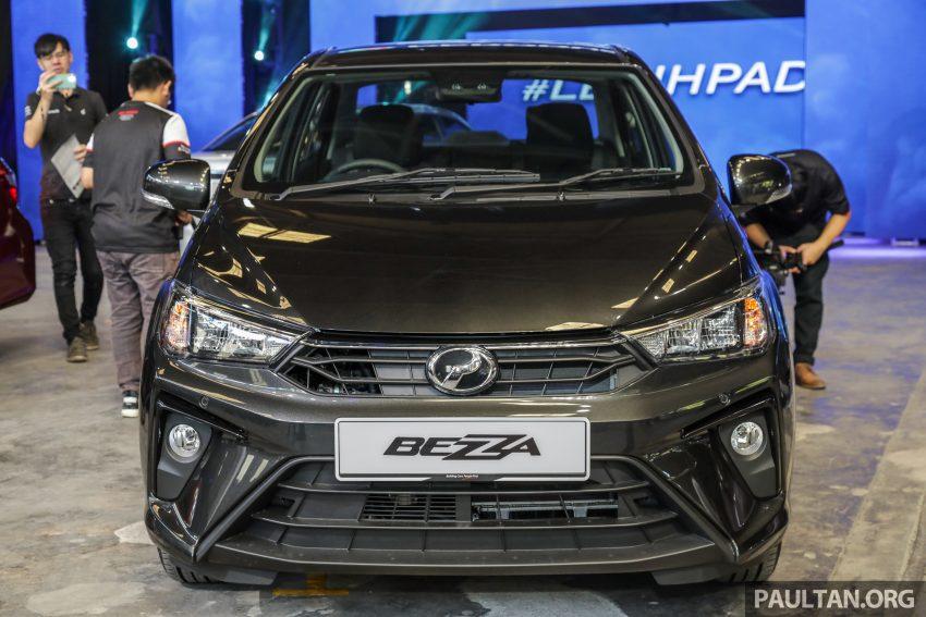 2020 Perodua Bezza 小改款上市, 4等级价格从3.46万起 Image #114267