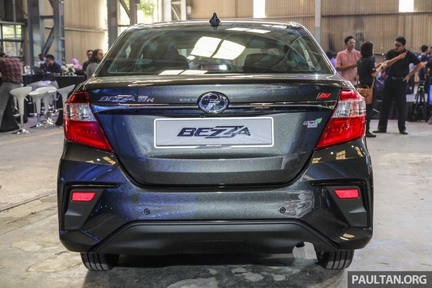 2020 Perodua Bezza 小改款上市, 4等级价格从3.46万起 Image #114268