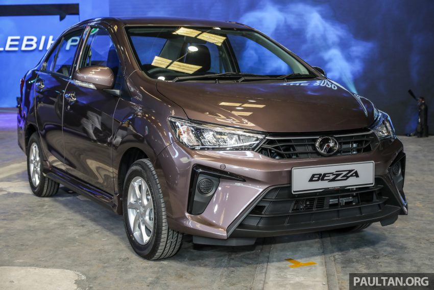 2020 Perodua Bezza 小改款上市, 4等级价格从3.46万起 Image #114279