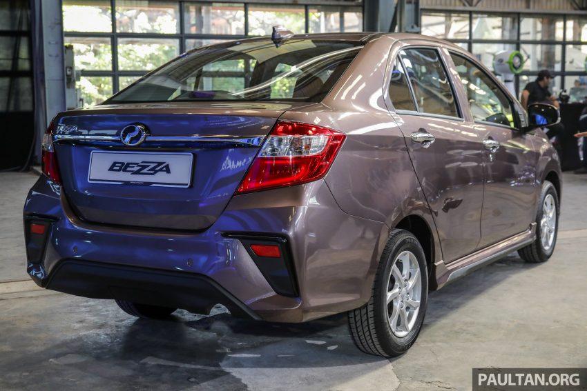2020 Perodua Bezza 小改款上市, 4等级价格从3.46万起 Image #114280
