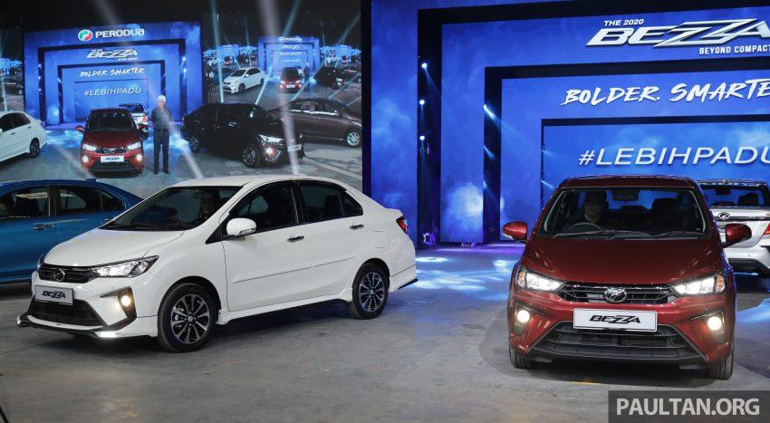 2020 Perodua Bezza 小改款上市, 4等级价格从3.46万起 Image #114150
