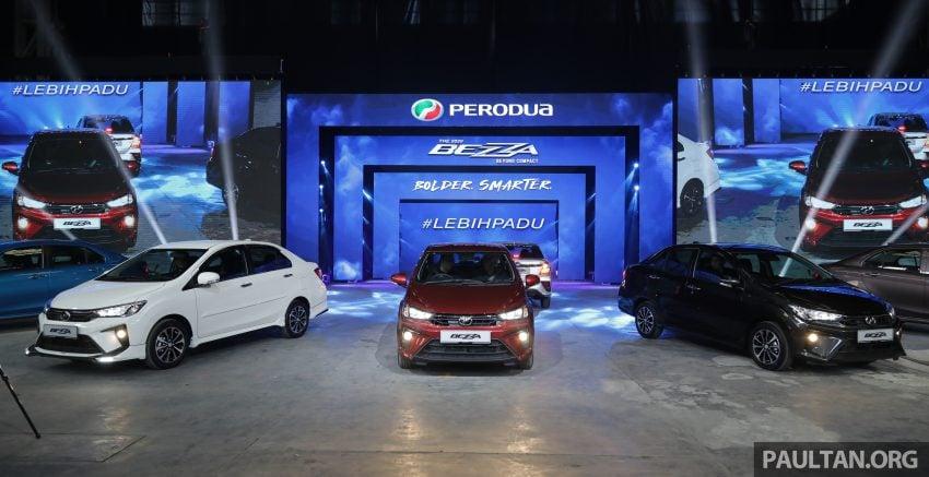 2020 Perodua Bezza 小改款上市, 4等级价格从3.46万起 Image #114151
