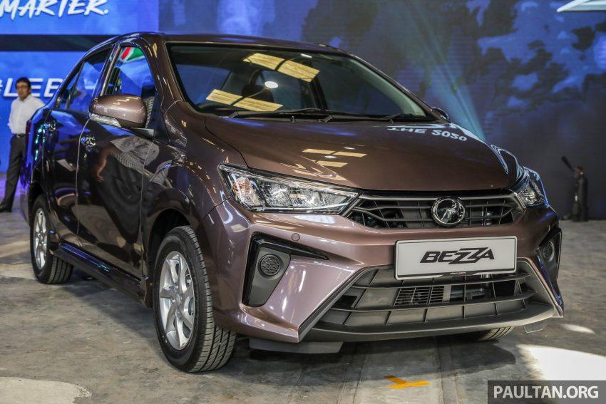 2020 Perodua Bezza 小改款上市, 4等级价格从3.46万起 Image #114337