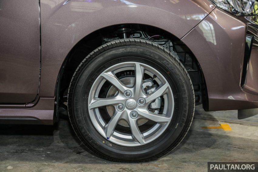 2020 Perodua Bezza 小改款上市, 4等级价格从3.46万起 Image #114347