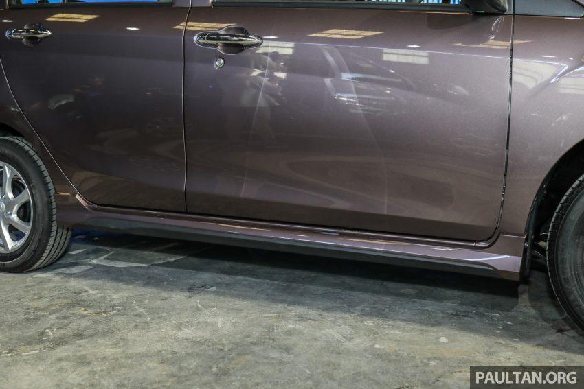 2020 Perodua Bezza 小改款上市, 4等级价格从3.46万起 Image #114350