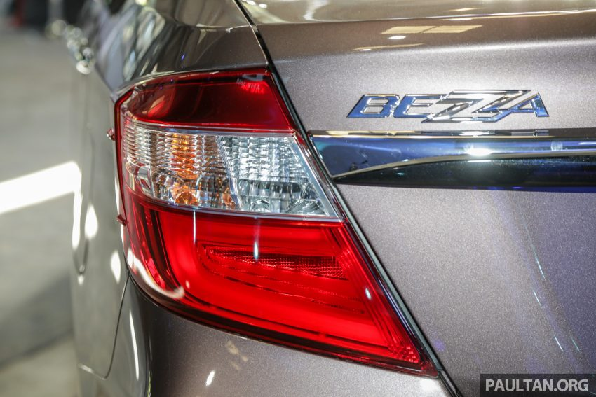 2020 Perodua Bezza 小改款上市, 4等级价格从3.46万起 Image #114353
