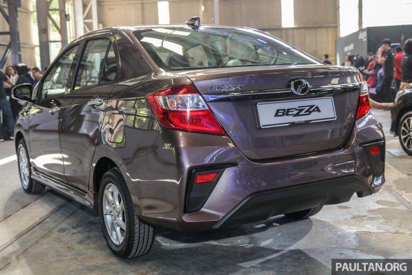 2020 Perodua Bezza 小改款上市, 4等级价格从3.46万起 Image #114338