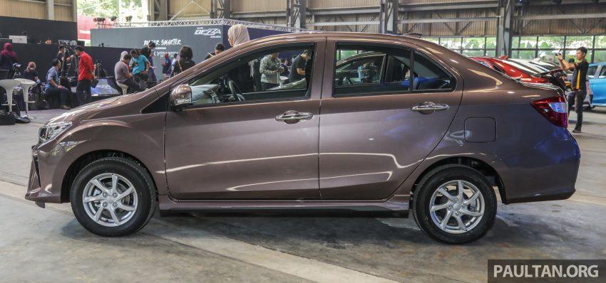 2020 Perodua Bezza 小改款上市, 4等级价格从3.46万起 Image #114341