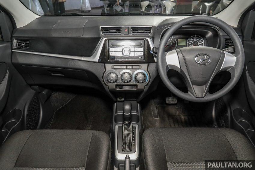 2020 Perodua Bezza 小改款上市, 4等级价格从3.46万起 Image #114363