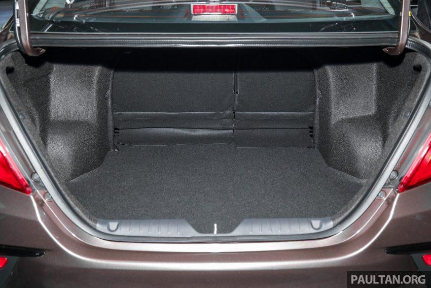 2020 Perodua Bezza 小改款上市, 4等级价格从3.46万起 Image #114388