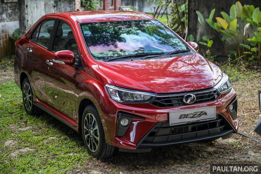 2020 Perodua Bezza 小改款上市, 4等级价格从3.46万起 Image #114158