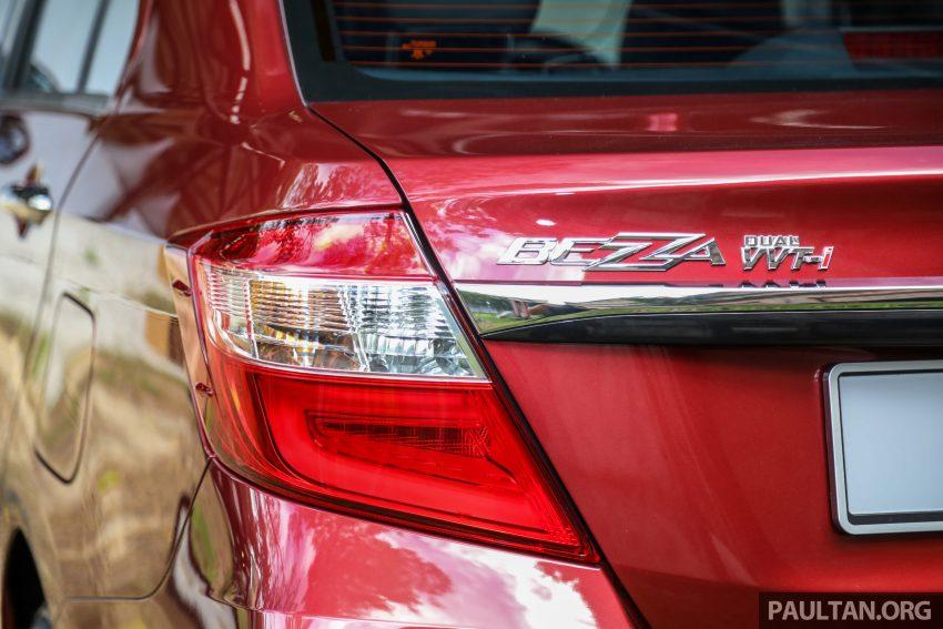 2020 Perodua Bezza 小改款上市, 4等级价格从3.46万起 Image #114179