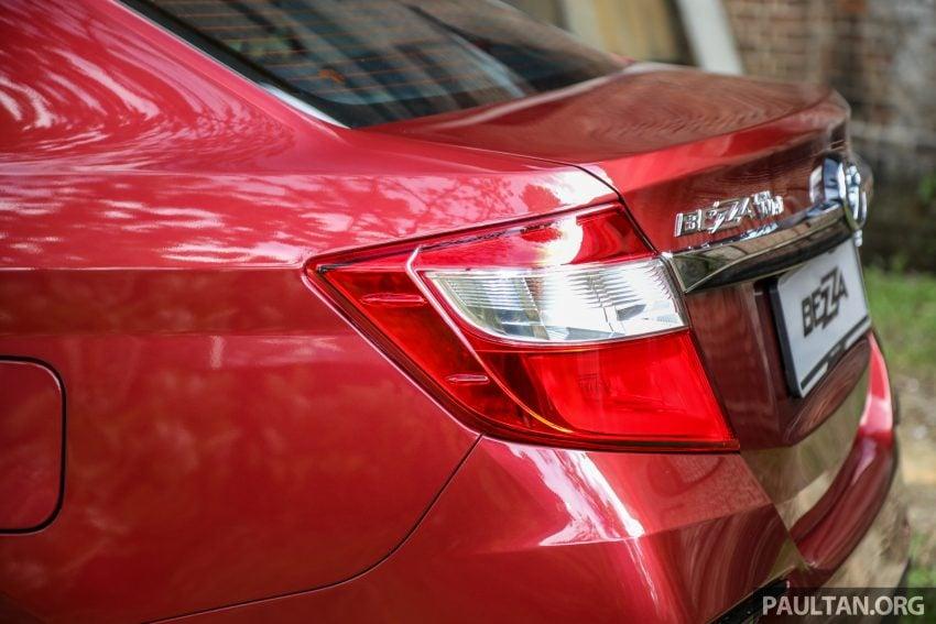 2020 Perodua Bezza 小改款上市, 4等级价格从3.46万起 Image #114180