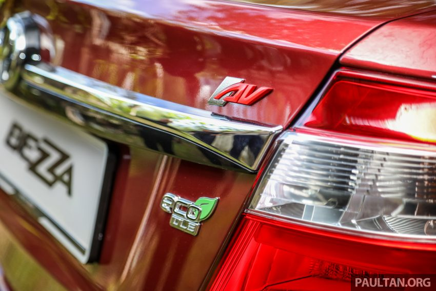 2020 Perodua Bezza 小改款上市, 4等级价格从3.46万起 Image #114186