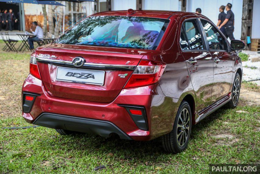 2020 Perodua Bezza 小改款上市, 4等级价格从3.46万起 Image #114159