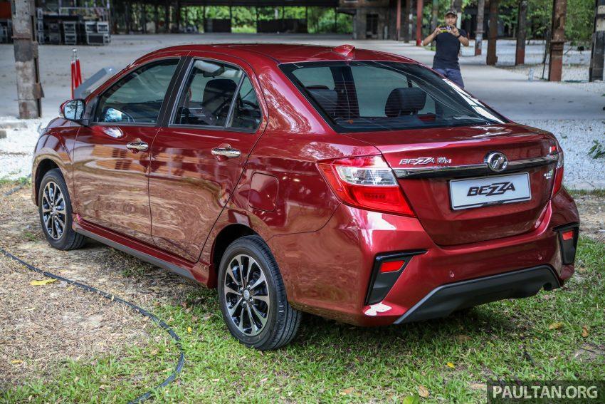2020 Perodua Bezza 小改款上市, 4等级价格从3.46万起 Image #114160