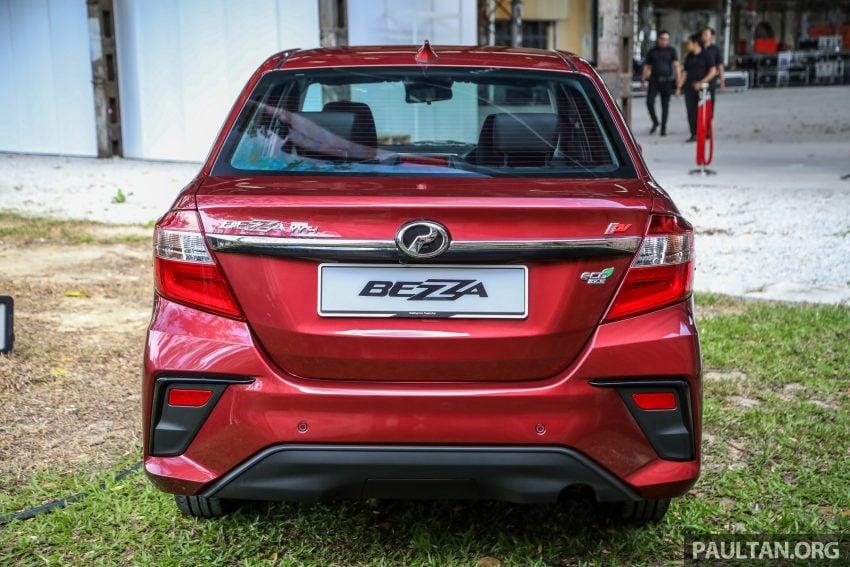 2020 Perodua Bezza 小改款上市, 4等级价格从3.46万起 Image #114162