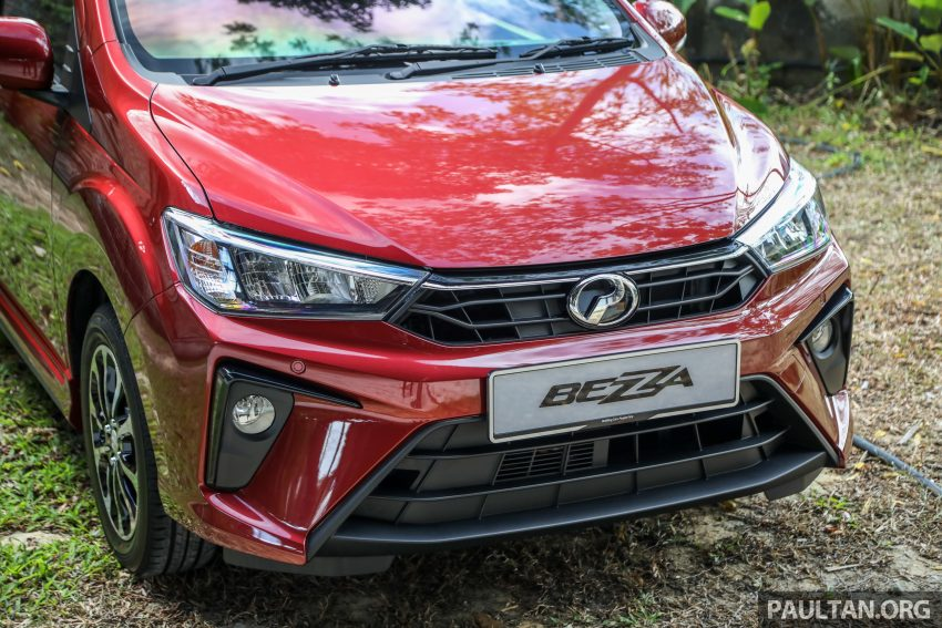 2020 Perodua Bezza 小改款上市, 4等级价格从3.46万起 Image #114165