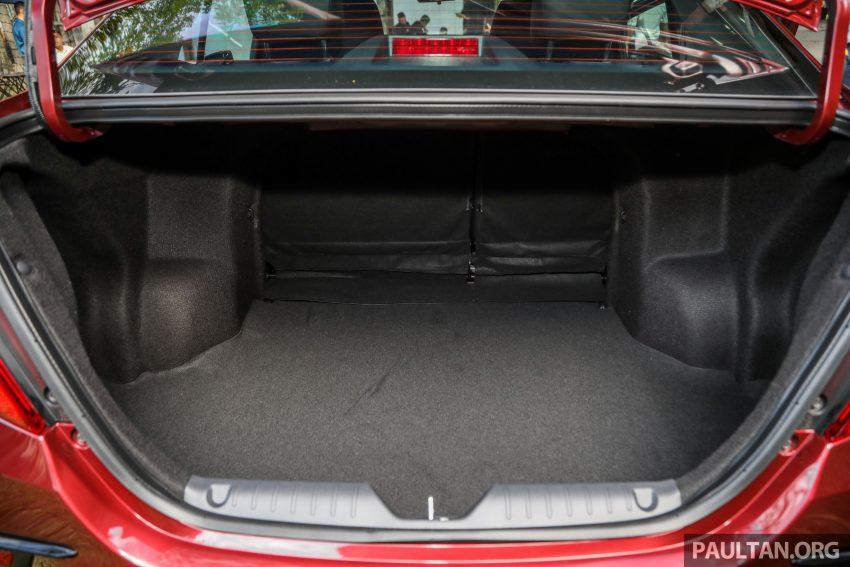 2020 Perodua Bezza 小改款上市, 4等级价格从3.46万起 Image #114217