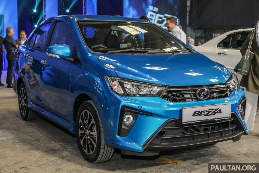 2020 Perodua Bezza 小改款上市, 4等级价格从3.46万起 Image #114284