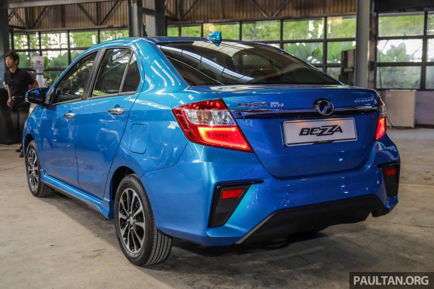 2020 Perodua Bezza 小改款上市, 4等级价格从3.46万起 Image #114285