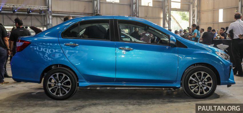 2020 Perodua Bezza 小改款上市, 4等级价格从3.46万起 Image #114288