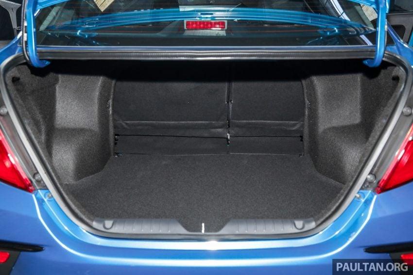 2020 Perodua Bezza 小改款上市, 4等级价格从3.46万起 Image #114335