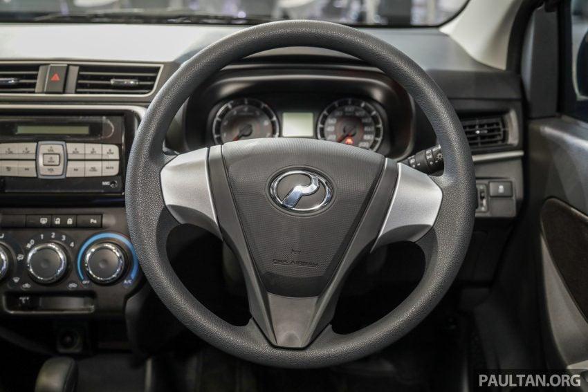 2020 Perodua Bezza 小改款上市, 4等级价格从3.46万起 Image #114311