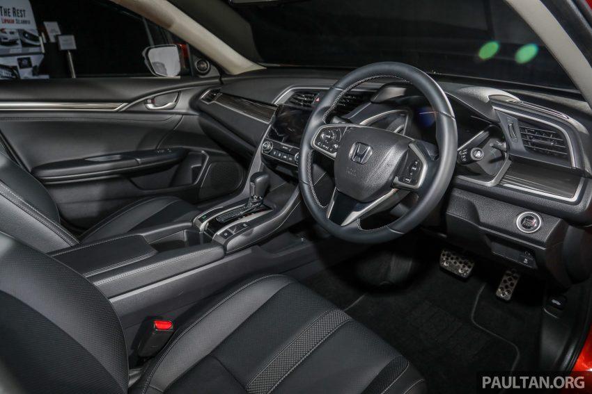 十代 Honda Civic 小改款本地价格正式公布, 从11.4万起 Image #117335