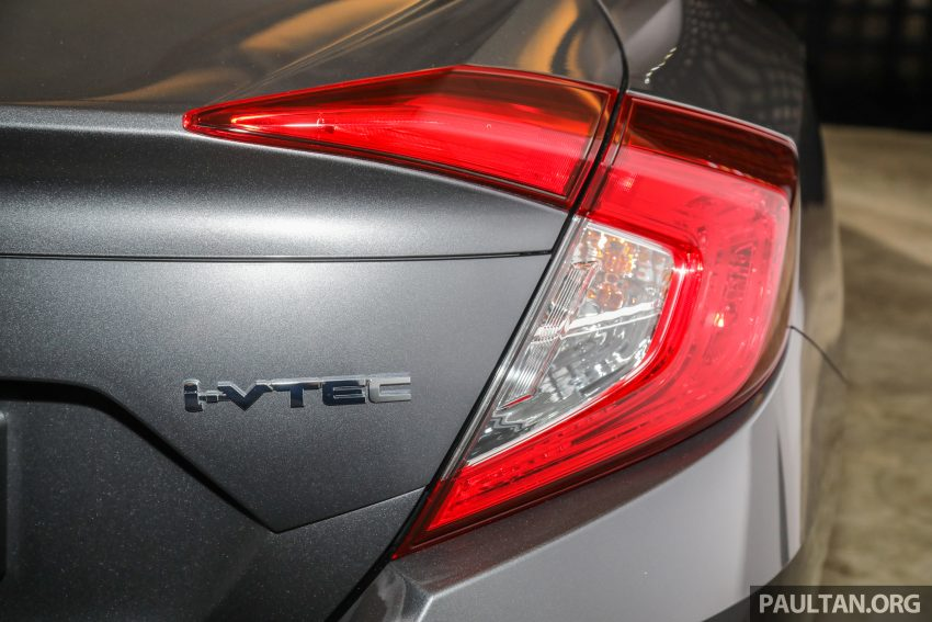 十代 Honda Civic 小改款本地价格正式公布, 从11.4万起 Image #117356