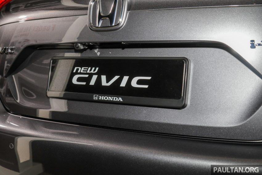 十代 Honda Civic 小改款本地价格正式公布, 从11.4万起 Image #117358