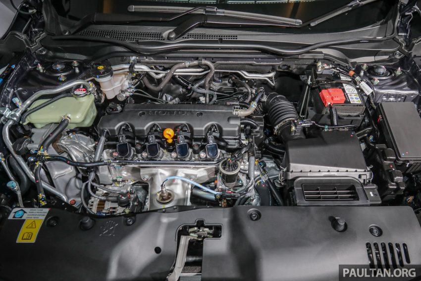十代 Honda Civic 小改款本地价格正式公布, 从11.4万起 Image #117360