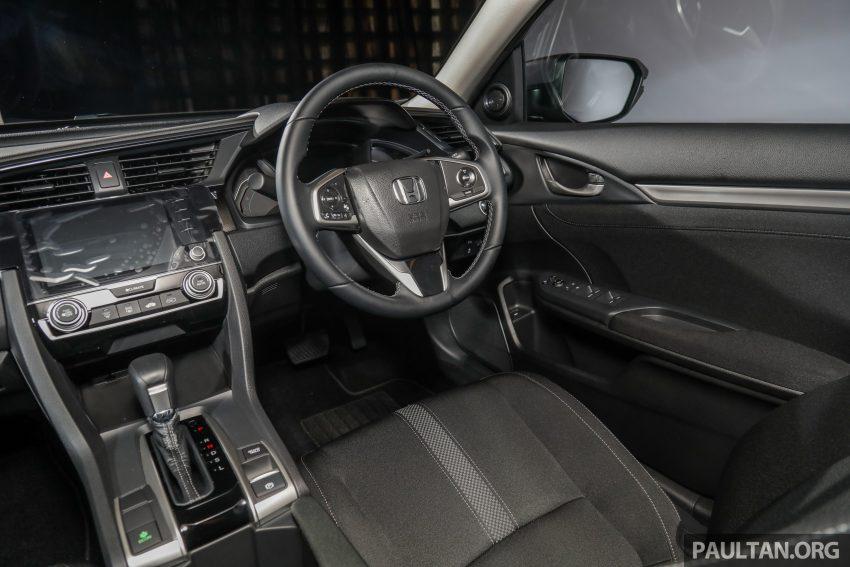 十代 Honda Civic 小改款本地价格正式公布, 从11.4万起 Image #117375