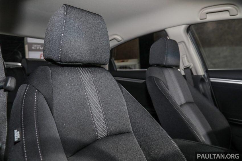 十代 Honda Civic 小改款本地价格正式公布, 从11.4万起 Image #117379