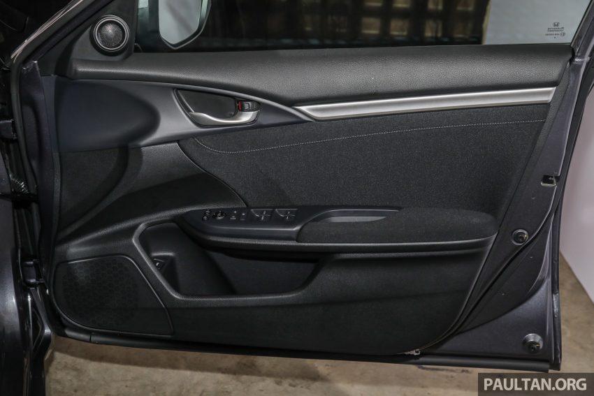 十代 Honda Civic 小改款本地价格正式公布, 从11.4万起 Image #117382