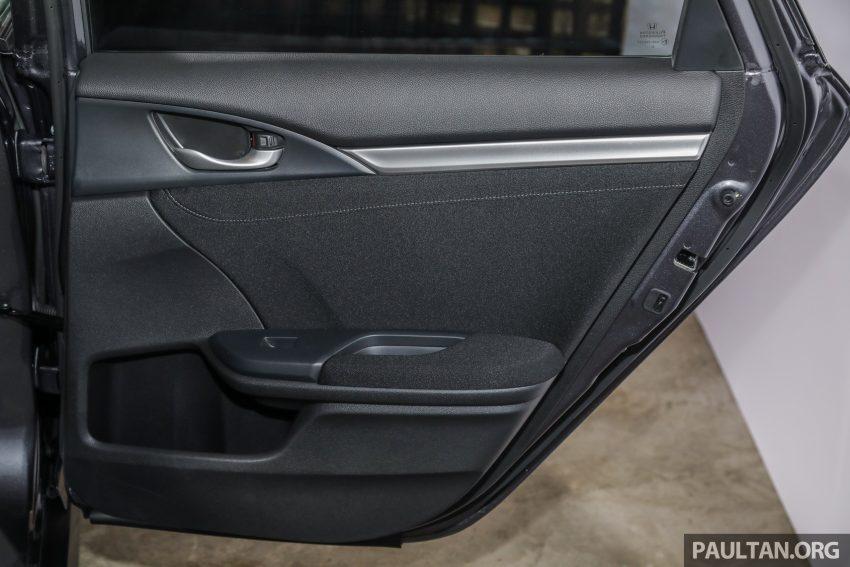十代 Honda Civic 小改款本地价格正式公布, 从11.4万起 Image #117386