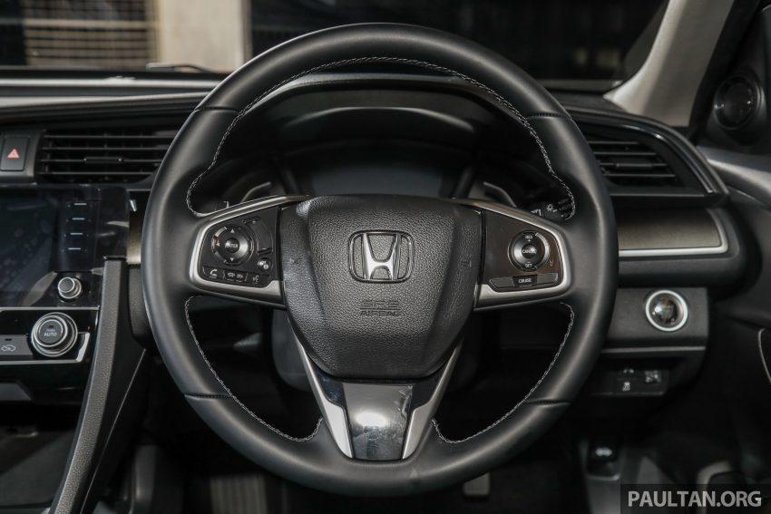 十代 Honda Civic 小改款本地价格正式公布, 从11.4万起 Image #117365