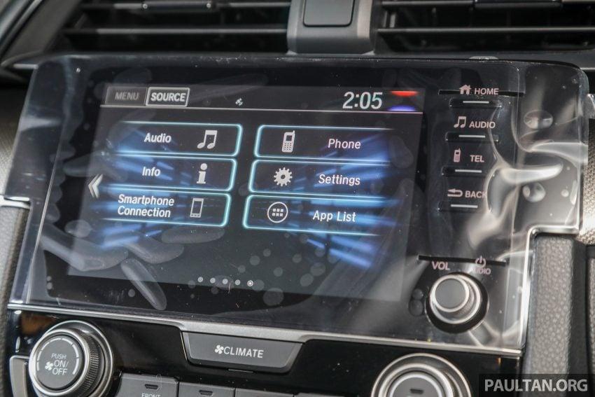 十代 Honda Civic 小改款本地价格正式公布, 从11.4万起 Image #117371