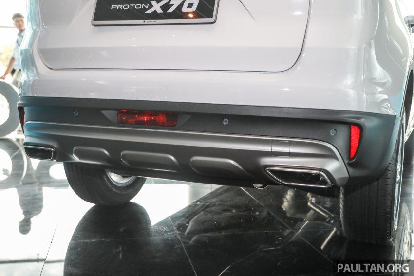 2020 Proton X70 CKD正式开售,4个等级售价从9.5万起 Image #116024