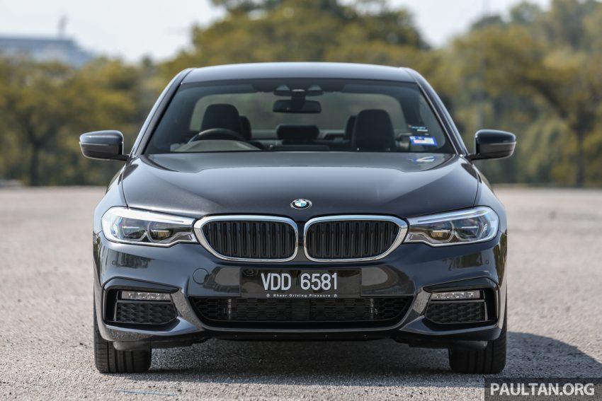 新车试驾: BMW 530e M Sport, 外观升级价格依然合理 Image #116579