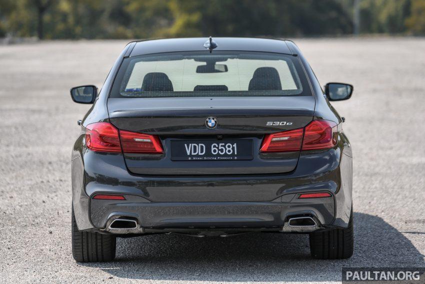 新车试驾: BMW 530e M Sport, 外观升级价格依然合理 Image #116580