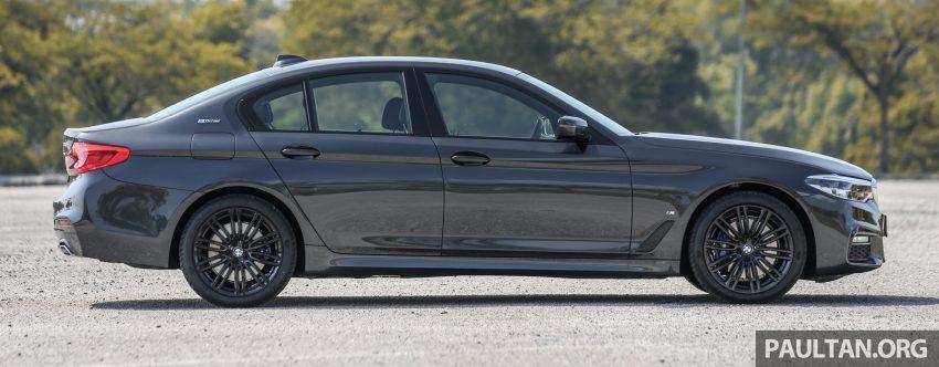 新车试驾: BMW 530e M Sport, 外观升级价格依然合理 Image #116583