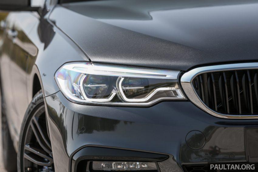 新车试驾: BMW 530e M Sport, 外观升级价格依然合理 Image #116585