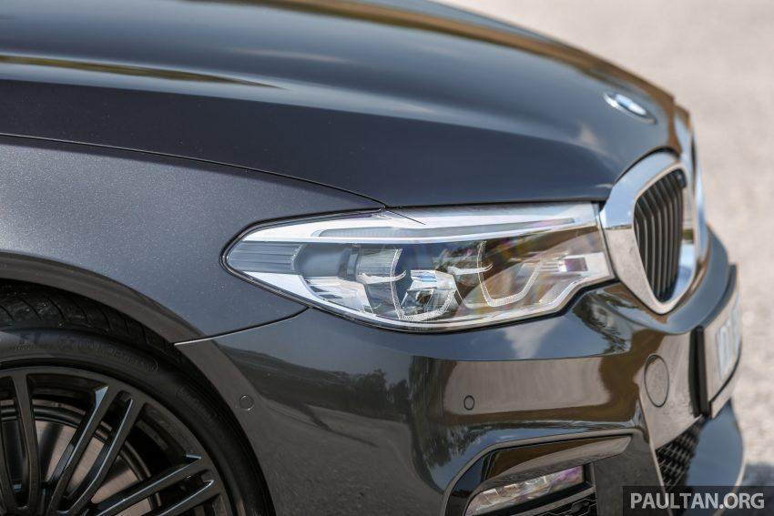 新车试驾: BMW 530e M Sport, 外观升级价格依然合理 Image #116586