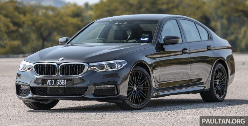 新车试驾: BMW 530e M Sport, 外观升级价格依然合理 Image #116571