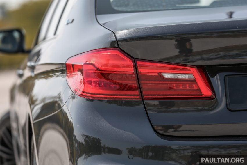 新车试驾: BMW 530e M Sport, 外观升级价格依然合理 Image #116601
