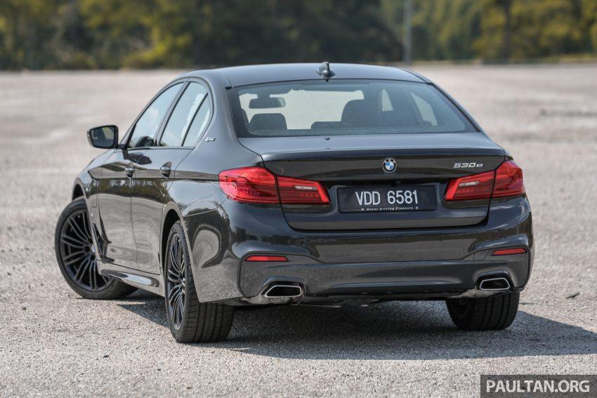 新车试驾: BMW 530e M Sport, 外观升级价格依然合理 Image #116576