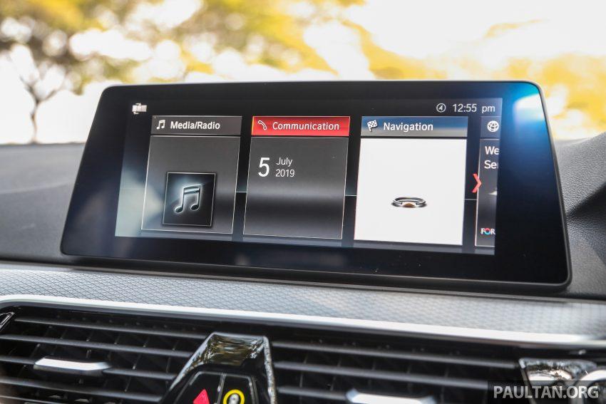 新车试驾: BMW 530e M Sport, 外观升级价格依然合理 Image #116619
