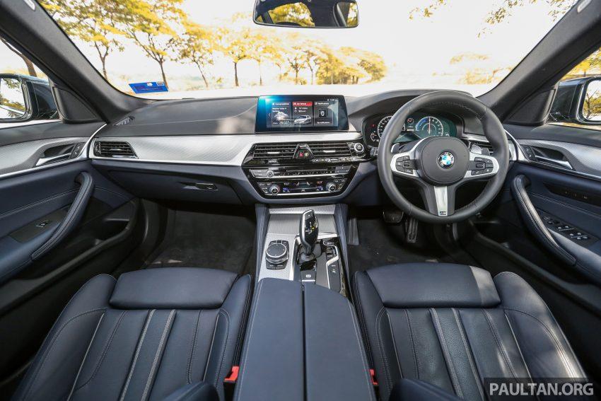 新车试驾: BMW 530e M Sport, 外观升级价格依然合理 Image #116610
